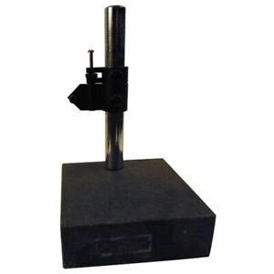 Fowler Granite Gage Stand 52 580 030 Column Height 8 Base Thick 2 Grad 001