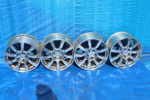 2008 Cadillac Cts 3 6 Sedan 1 Wheel Rims 18 Inch 4pc Set Oem