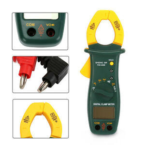 Digital Clamp Multimeter Lcd Handheld Ac dc Voltmeter Ammeter 192mmx73mmx37 5mm