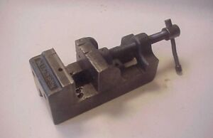 Palmgren 2 7 16 Jaws Opens To 2 5 8 Machinist Toolmakers Drill Press Vise