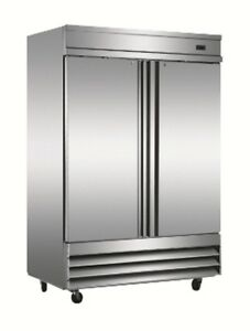 Alamo Xcfd2ff e Reach in 2 door Stainless Steel Freezer