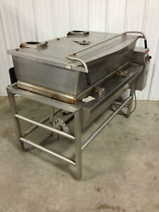 Used Market Forge Nat Gas Tilt Skillet Excellent Free Shipping