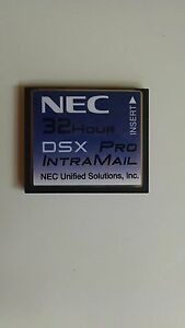 Nec Dsx 40 80 160 1091053 V2 2 G Intramail 8 Port 32 Hour Pro Voice Mail System