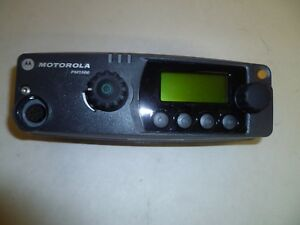 Motorola Pm1500 Two Way Radio Remote Control Head Pmln4907d Multiple Available
