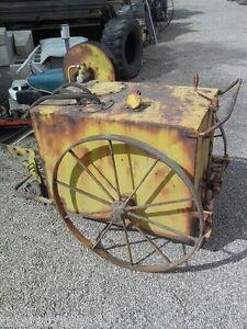 Wwii Aircraft Hydraulic Service Cart From Davis Monthan Afb Tucson Arizona