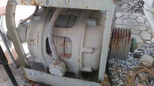 37 5kva Westinghouse Antique Industrial Power Ac Generator Head 240v Ac 3 Phase