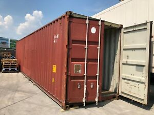 40 High Cube Steel Cargo Shipping Storage Container