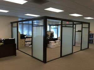 Used Office Partitions Enclosures