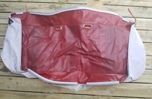 Nos Ford 1980 86 Truck Bronco Truck Bench Seat Cover Red Bottom Only