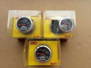 Blitz Racing Meter Dc Boost Gauge Meter 2 0hkpa Black Face Jdm