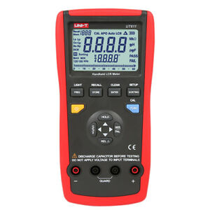 Portable Ut611 Lcr Meter Inductance Capacitance Resistance Frequency Lcd Tester