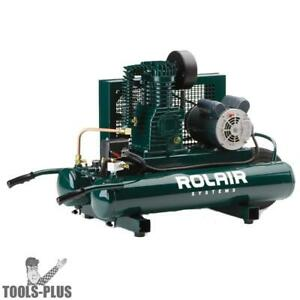 Rolair 5715k17 1 5 Hp Single Stage Portable Air Compressor New