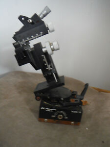 Newport 3 Axis Manipulator With Rotating Sine Plate And Magnetic Base