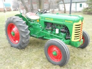 1957 Oliver Super 55 Gas Tractor 3 Point Hitch