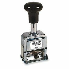 Shachihata Inc Xst40240 Auto Number Stamp Self inking 6 Wheels 1 Size