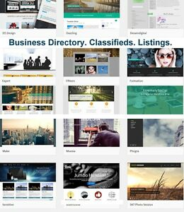 Business Directory Classifieds Listings Rentals Events website Hosting
