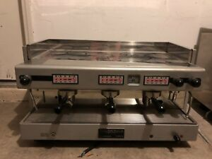 Nuova Simonelli 3 Bar Commercial Espresso Machine Latte Coffee 3 Group Nice
