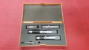Mitutoyo Fixed Inside Micrometer Set 2 6 Inch Model 133 904 imst 6 4
