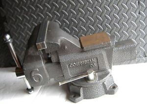 Columbian 6 Bench Vise D6