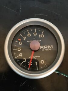 Autometer Sport Comp Tachometer 10000rpm 5in