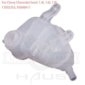 For 2012 2017 Chevy Chevrolet Sonic Radiator Coolant Reservoir Expansion Tank