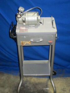 Chemtron Medical Table Model 790 Portable Aspirator Suction Pump W Stand Drawer
