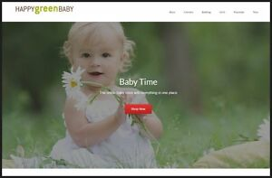 Baby Products Website Earn 761 00 A Sale free Domain free Hosting free Traffic