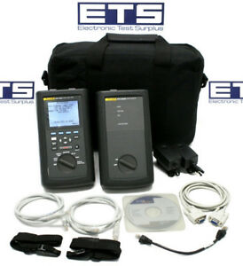 Fluke Networks Dsp 2000 Cable Analyzer W Smart Remote Cat5 Lan Tester Certifier