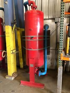 Zander Air Holding Tank 150 Psi 500 Degrees And Filter
