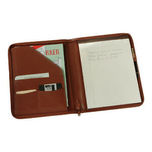 Royce Leather Unisex Deluxe Zip Around Writing Portfolio 746 5