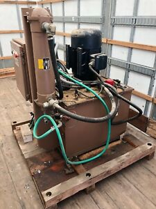 Satec System Inc Hydraulic Pump System Test Tensile Compression Tester Instron