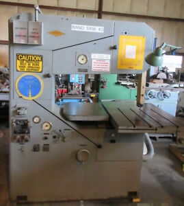 Wespa Vertical Band Saw Model As10 36 Throat Depth 13 Height