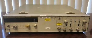 Hp 5328a Universal Frequency Counter Digital 500mhz Rackmount