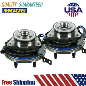2 Front Moog Wheel Bearing And Hub 2006 2007 2008 2009 2010 Ford Explorer