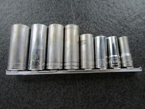Classic S k Tools 3 8 Drive 8 Pc Deep Sae Socket Set Made In Usa