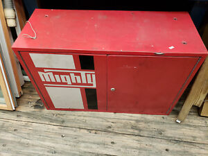 Mighty Auto Parts Locker Cabinet Metal Parts Small