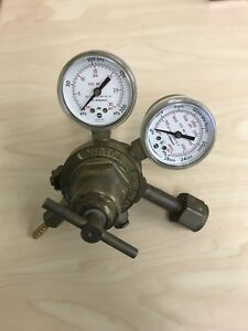 Victor Equipment Company Co2 Gas Regulator Cga 320 2 stage