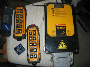 Hbc Radiomatic Crane Remote Control Transmitter And Reciever 2 Step Control