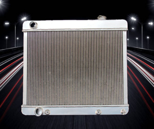 1961 1962 1963 1964 Oldsmobile Jetstar V8 394 Engine 3 Row Aluminum Radiator