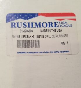 Rushmore Rm115b 135pc Drill Set