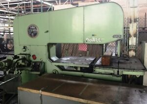 Doall Model 6013 3 Vertical Band Saw 1967
