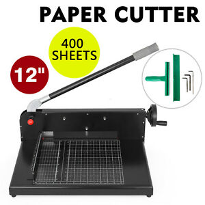 New Guillotine Sg 198 12 Commercial Stack Paper Cutter Trimmer Cutting Stick