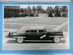 1950 Lincoln Special Converti Presidential Limo 12 By 18 Black White Picture