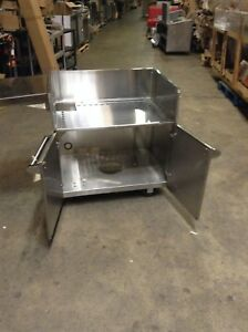 Viking Vgbq33603relss Grill Cart Stainless Steel With Shelf