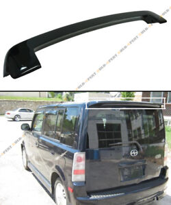 Glossy Painted Blk Oe Style Jdm Rear Roof Top Spoiler Wing For 03 07 Scion Xb Bb