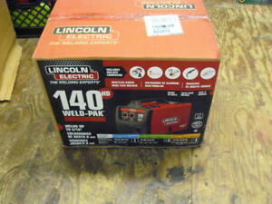 Lincoln Electric K2514 1 140 Amp Weld Pak 140 Hd Mig Wire Feed Welder Kit New