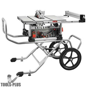 Skilsaw Spt99 12 10 Heavy Duty Worm Drive Table Saw Stand New