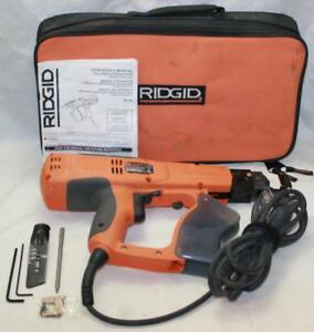 Ridgid R6790 1 2 Drywall Deck Collated Screwdriver Clean Used