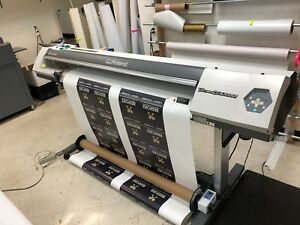 Roland Versacamm Vp 540 Eco Solvent Printer cutter plotter 54 with Takeup System