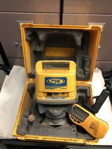 Trimble Spectra Ll500 Long Range Rotary Laser With Receiver Case